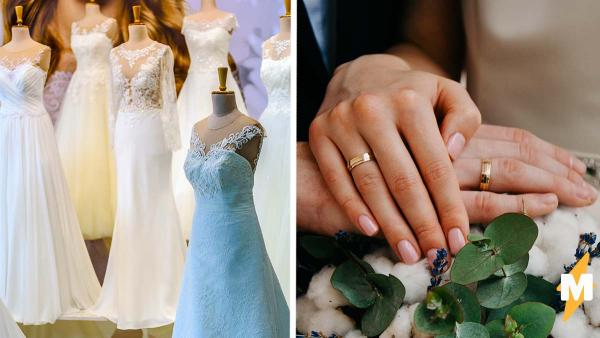 Невеста хотела особенное платье, но перестаралась. Ехать на свадьбу в нём пришлось на 16-метровом грузовике
