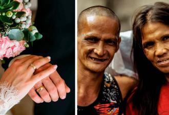 Бездомная мечтала о свадьбе, а надев белое платье, удивила жениха. Он не знал, что 24 года живёт с моделью