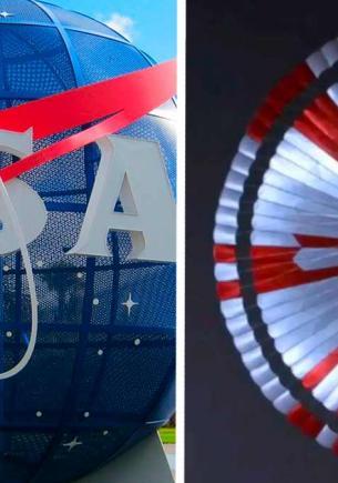 Ровер Perseverance сломал головы гиков узором парашюта. Самых внимательных там ждёт пасхалка Загадочника NASA