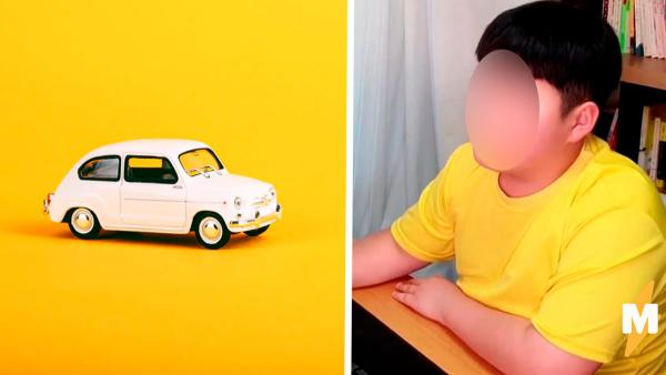 Семилетний мальчик продавал машинки, но запретов не слышал.