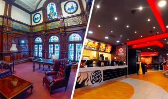 В Burger King нашлась тайная комната, и это гостиная Гриффиндора. Попасть туда может только избранный