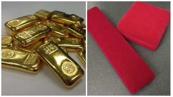 Муж подарил жене коробку золотых слитков и рассмешил её. Их проба оказалась низкой, зато вкус вполне себе