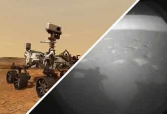 Ровер Perseverance показал свои первые фото с Марса и подарил мем. Пристегнитесь, вариации — просто космос