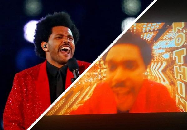 The Weeknd выступил на Супербоуле и сразу же выдал мем. Если вы терялись в магазине, этот шаблон идёт к вам