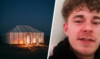 Бизнесмен прожил 8 месяцев в палатке у дома отца. Никаких ссор — сын сам сделал выбор, о котором не пожалел