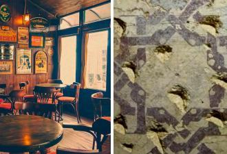 Археологи зашли выпить в бар, но случайно попали в баню. Чтобы в такой помыться, нужен маховик времени
