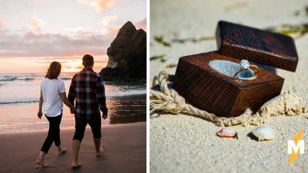 Супруги нашли на пляже кольцо и удивились, узнав, кем был хозяин. Его личность помогла им вернуться в прошлое