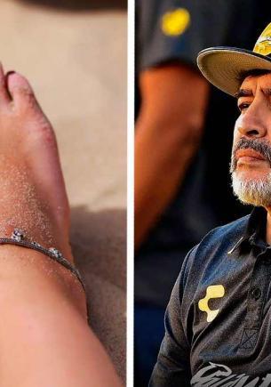 Подруга загорела на пляже и обрадовала бойфренда. Теперь он каждый день видит Диего Марадону в своей постели