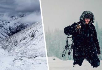 Альпинист взобрался на вершину горы и нашёл нового друга. У него восемь ног, но он растопит любые сердечки
