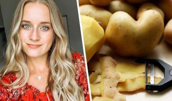 Блогерша показала лайфхак по чистке картошки — мир не будет прежним. Время и ноготочки сбережёт обычная вилка