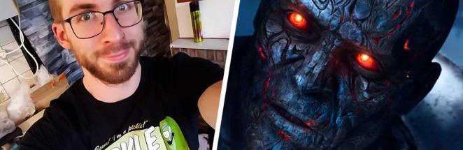 Скульптор закосплеил героя Warcraft и сломал реальность. Чтобы стать лордом нежити, пришлось гореть изнутри