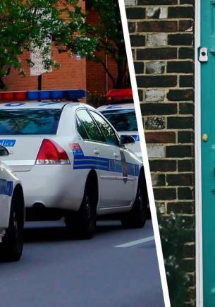 Полиция семь часов осаждала дом, уговаривая хозяина сдаться. Всё это время они болтали со стеной — буквально