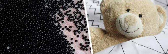 Мама нашла в детском домике сотни чёрных бусин и может с ним прощаться. В шариках росли её новые соседи