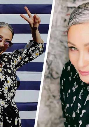 Экс-модель спустя 20 лет перестала красить волосы и сломала фешен-шаблоны. Сколько ей лет — вопрос для Шерлока