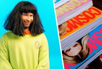 Блогер Стас Круглицкий попал на обложку Cosmopolitan. И девушки злы: они вспомнили его пародии на женщин
