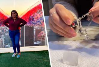Блогеры режут лёд серебром, но они не повелители стихий. Это тест на подлинность металла и магия физики
