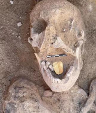 Учёные показали мумию, и проклясть она может только богатством. Стоит увидеть, что находится у неё во рту