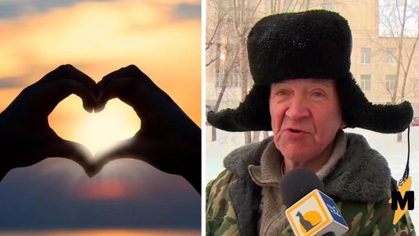 Дворник из Томска рассказал о планах на 14 февраля, и люди выпали. Ответом стали песни The Beatles и философия