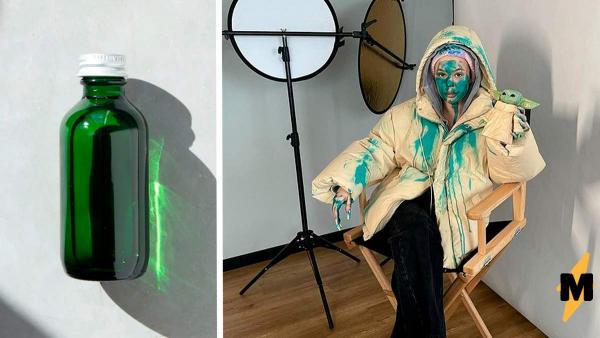 Блогеры мажут лицо зелёнкой, повторяя пранк Instasamka. Но смыть её не так просто, как вышло у рэперши