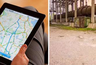 Блогер прогулялся рядом с Чернобыльской АЭС в Google Maps и нашёл нечто. Люди уверены – это отсылка к аварии