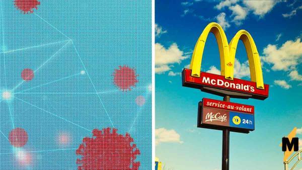Работник «Макдоналдса» показал бонус за труд во время пандемии. И люди злы: даже кетчуп от Heinz был бы лучше