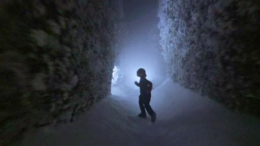 """Воры победили в спринте, но награду забрал выпавший снег. Их не спас бы даже заячий трюк из фильма """"Сияние"""""""
