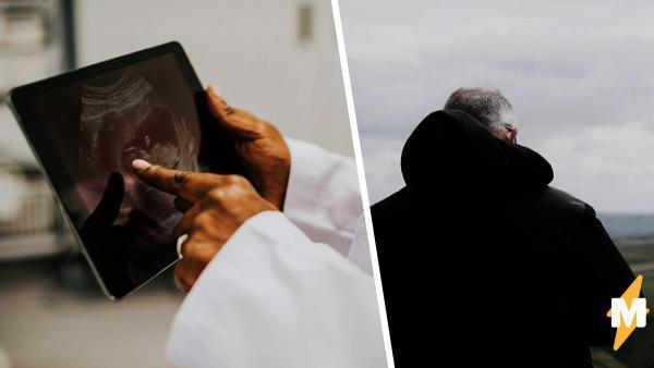 Будущая мама взглянула на снимок УЗИ и увидела знакомое лицо. Но это был не малыш, а её покойный дедушка