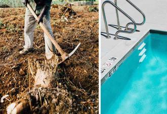 Работник раскопал бассейн – и к такому его жизнь не готовила. Теперь он знает, что хоббиты обитают не в Шире