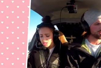 Пара в вертолёте потеряла связь с диспетчером, но это был пранк. Так парень изменил жизнь девушки навсегда