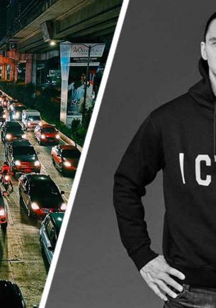 Златан Ибрагимович рассказал, как победил пробку на дороге. Стоило лишь бросить авто — и трафик ему не помеха