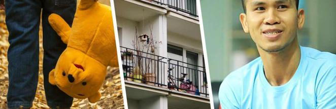 Флэш засветился на видео — и не помогла даже маскировка. Кто, если не он, поймал девочку, выпавшую с балкона