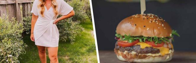 Тиктокерша показала, как приготовить низкокалорийный Биг-Мак. Она уверена: такое блюдо спасёт во время диеты