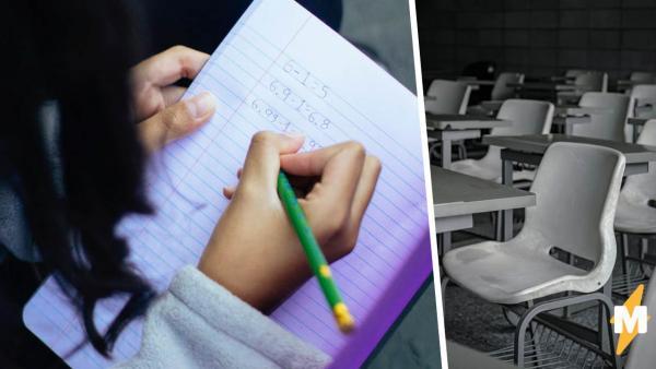 Школьница учится с одними козлами, но для одноклассников это не оскорбление. Фото класса снимает все вопросы