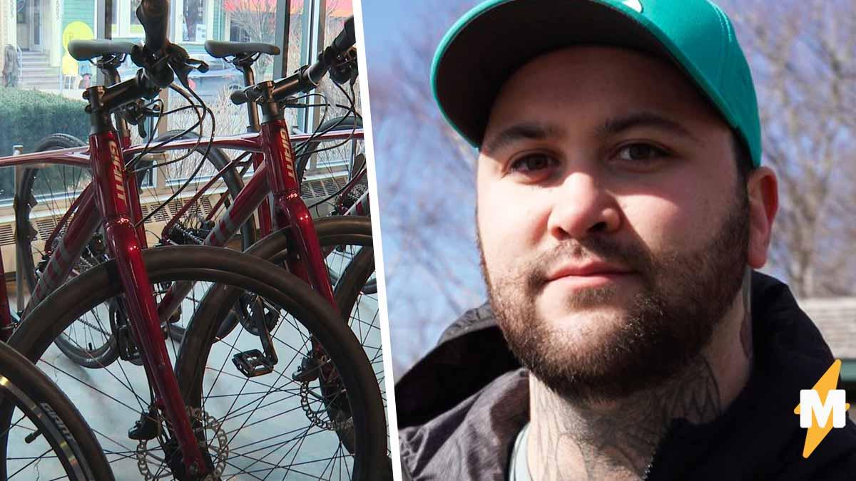 Худеющий парень хотел купить велосипед, но вышло неловко. После такого ответа продавца обратно он пошёл пешком