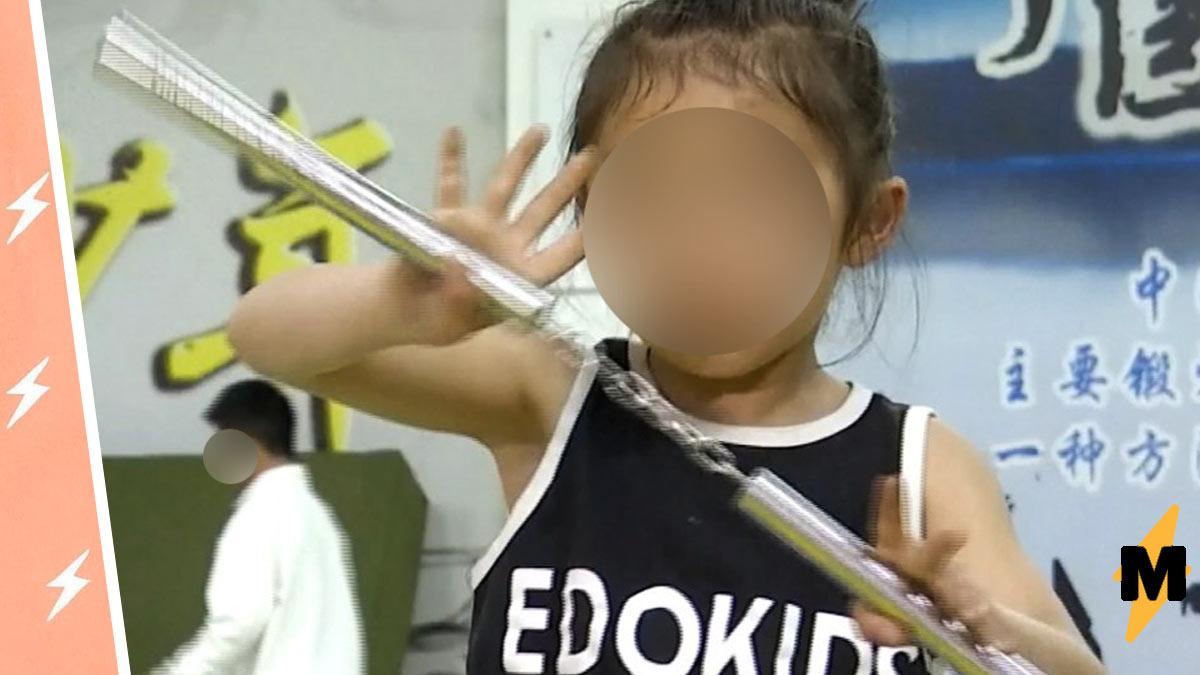 Брюс Ли вернулся, и это семилетняя девочка (серьёзно). Без видео с её трюками в такое перерождение не поверить
