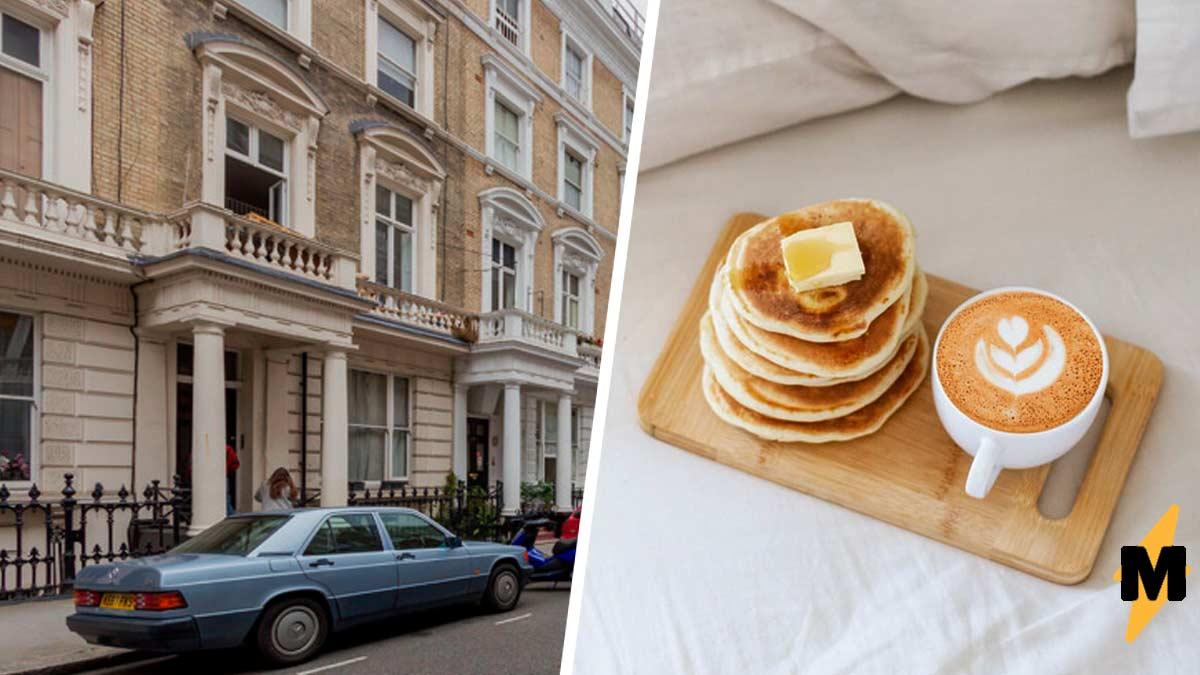 Мечтали готовить, не вставая с кровати,  квартира в Лондоне для вас. Но клаустрофобам её лучше не видеть