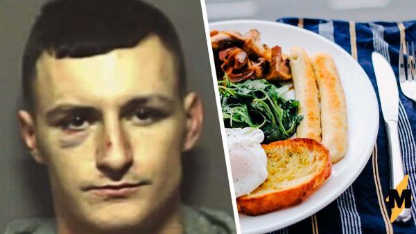 Экс-заключённый поел впервые на свободе и разбил сердца людям. Манеры сказали им больше о тюрьме, чем слова