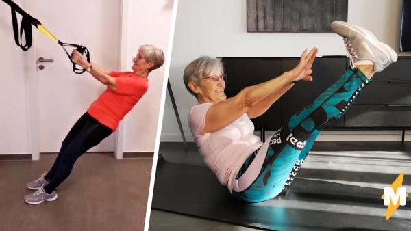 Бабушка за 80 стала фитенес-звездой тиктока. Её отличной форме позавидуют даже олимпийские спортсмены