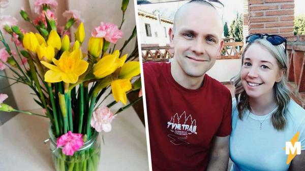 Женщина заказала цветы, но они исчезли. Виновата оказалась не служба доставки, а муж, который всё не так понял