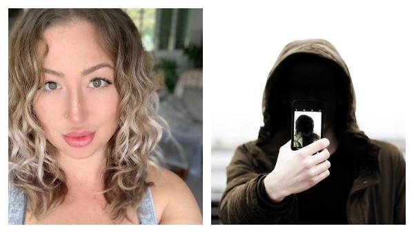 """Блогерша перевела камеру в режим """"селфи"""" и пожалела. Такой дуэт со сталкером хочется стереть из памяти"""