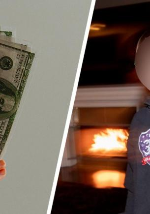 Восьмилетний сын зарабатывает больше обоих родителей. Он занимается тем, за что детей обычно ставят в угол