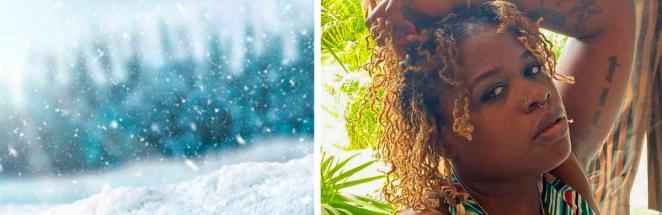 Девушка из Техаса не могла смыть краску с волос — вода в трубах замёрзла. Лук спас приём, знакомый россиянам