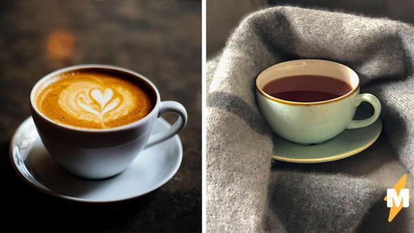 Тиктокер показал разницу между пробуждением от чая и кофе. Для фанов кофеина скетч вышел максимально жизненным