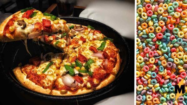 Ресторан продаёт пиццу со сладкими кольцами и у людей горит. Они уверены: это преступление против человечества