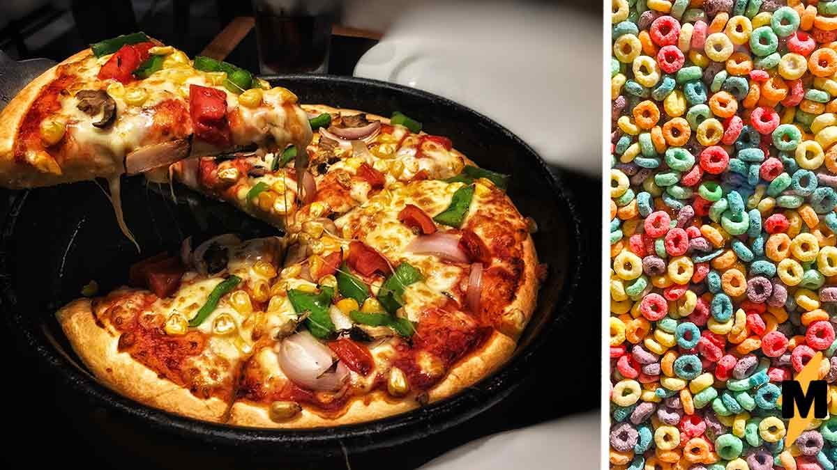 Ресторан создал пиццу со сладкими кольцами, и аппетит вышел из чата. Люди уверены: это кулинарное преступление