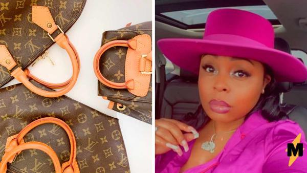 Тиктокерша сама сделала сумку Louis Vuitton и вышло дешевле ресейла. Люди ждут реакцию от дома моды