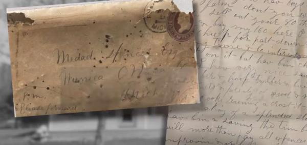 Пара нашла в доме письмо и узнала, как работали риелторы XIX века. Не зря 135 лет назад хозяин их не послушал