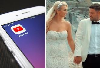 Пара не зря парилась со свадебным видео. Через 2 года ролик увидела вся страна — причём в другой части света