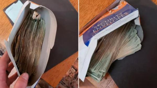 Хозяин нашёл в дыре вентиляции конверт с деньгами. Узнав, откуда они, мужчина тут же избавился от находки