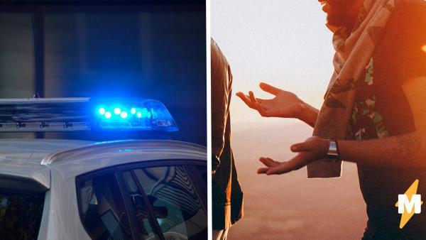 Офицер не стал задерживать хулигана, решив просто выслушать его. Так он понял, что слова сильнее тазера